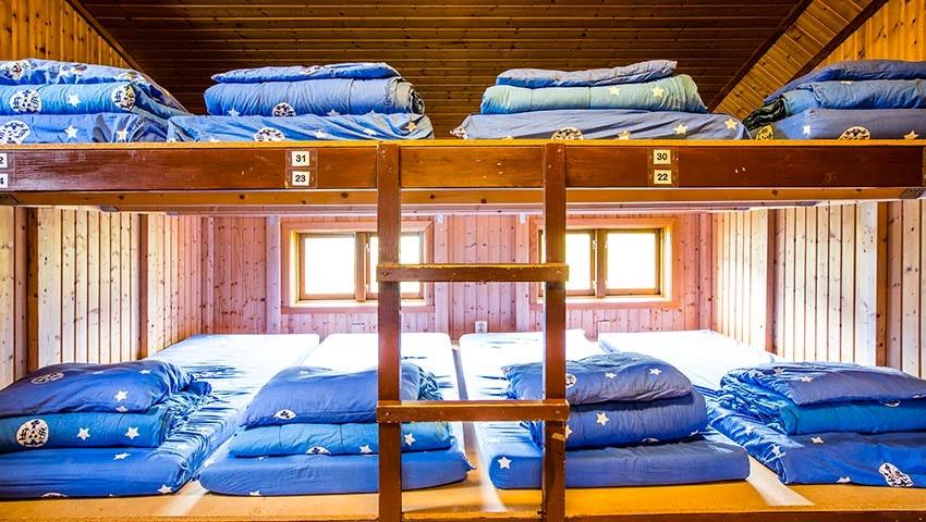 Sovsal på sylarna fjällstation