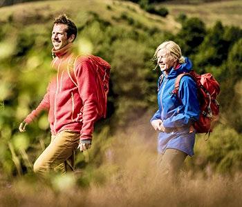 Glada vandrare i lågland