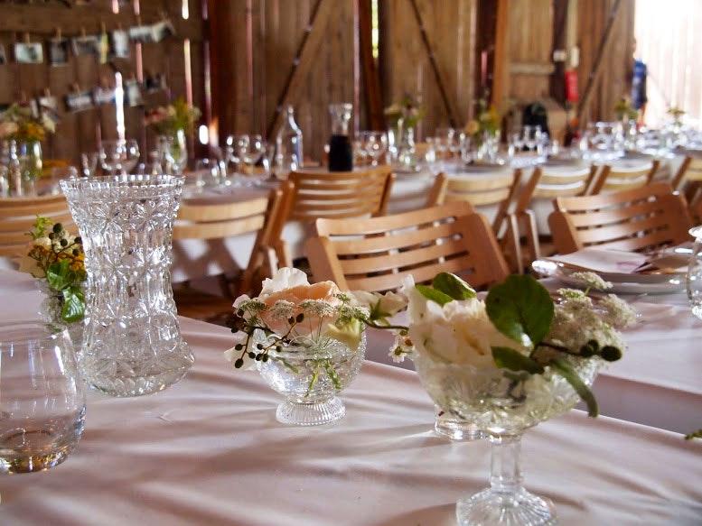 middagsdukning bröllop