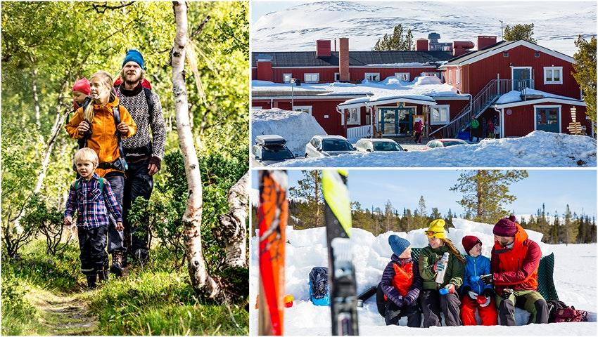 vandrarhem dalarna karta Dalarna   Svenska Turistföreningen vandrarhem dalarna karta