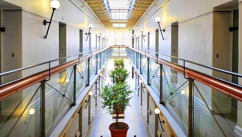 fängelsekorridor STF Zinkensdamm