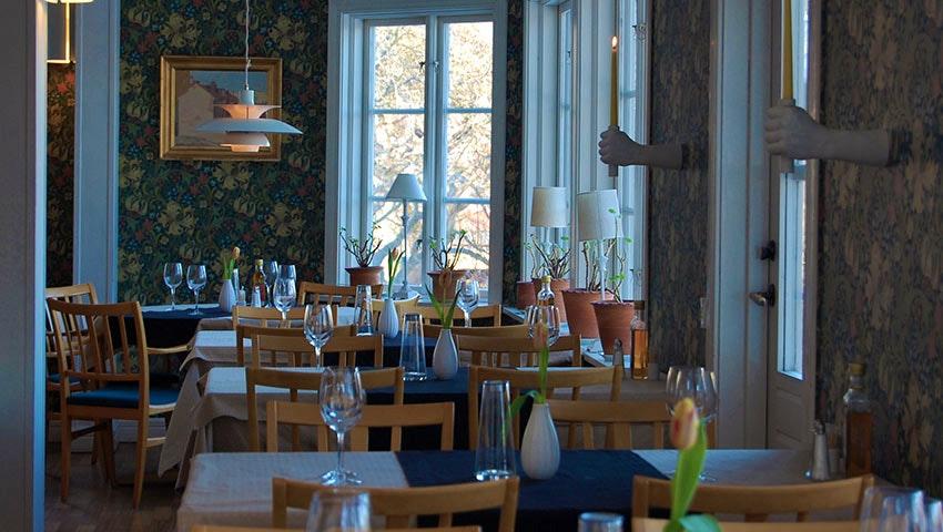 Restaurangen på Bo Pensionat, Öland