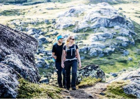 Vandrad Jämtlandstriangeln själv