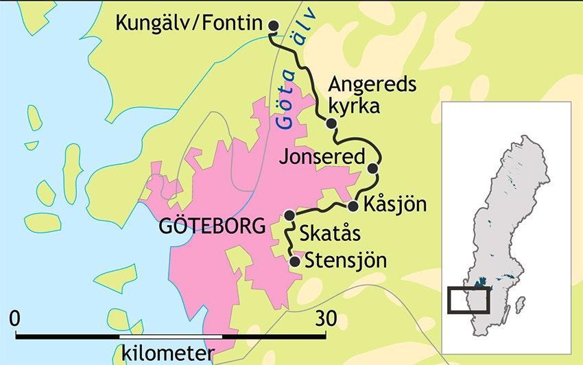 bohusleden karta