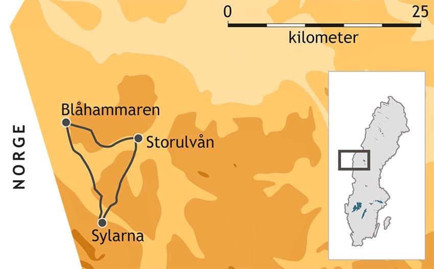 jämtlandstriangeln karta