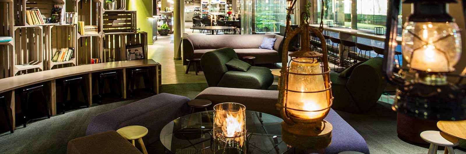 Lounge på Göteborg city hotell