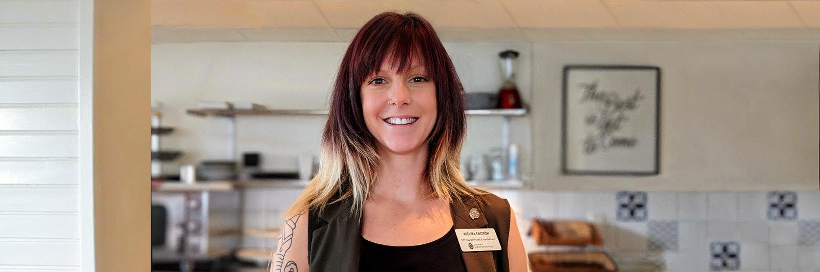 Adelina Enström från STF Gärdet