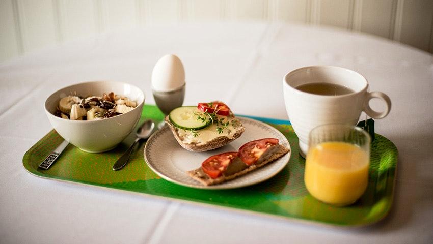 frukost på villa söderåsen