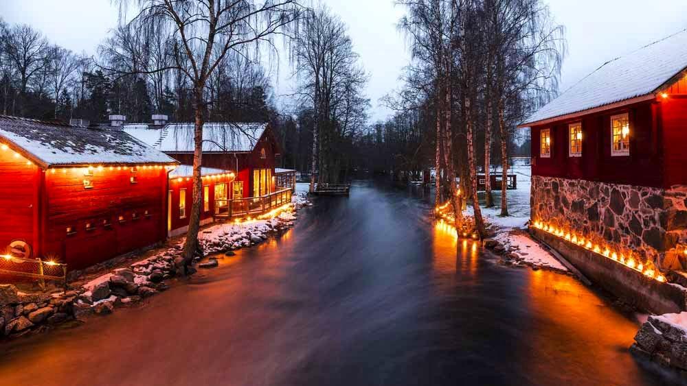 Vintermys på Korrö Hotell