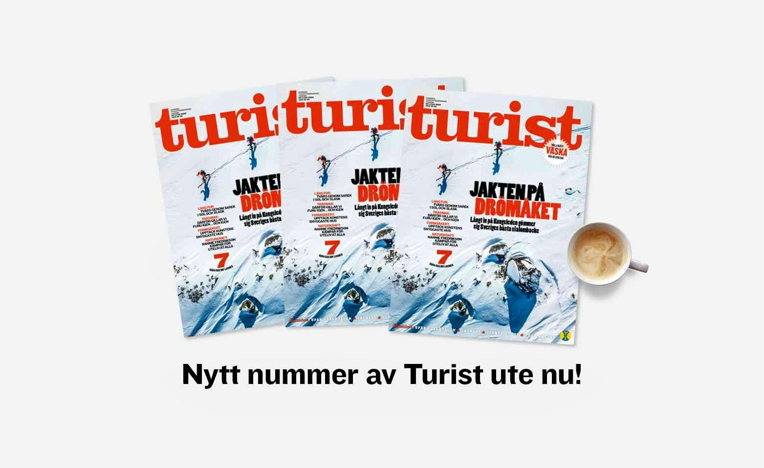 Nytt nummer av Turist feb 2020
