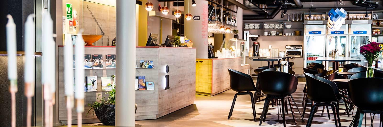 Reception på tillgänglighetsanpassade STF Göteborg City
