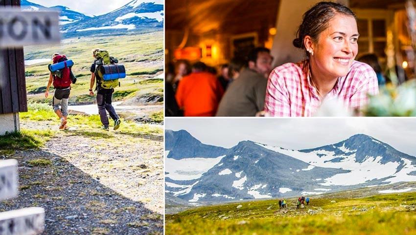 Vandring och avkoppling längs Storulvån-Ljungdalen