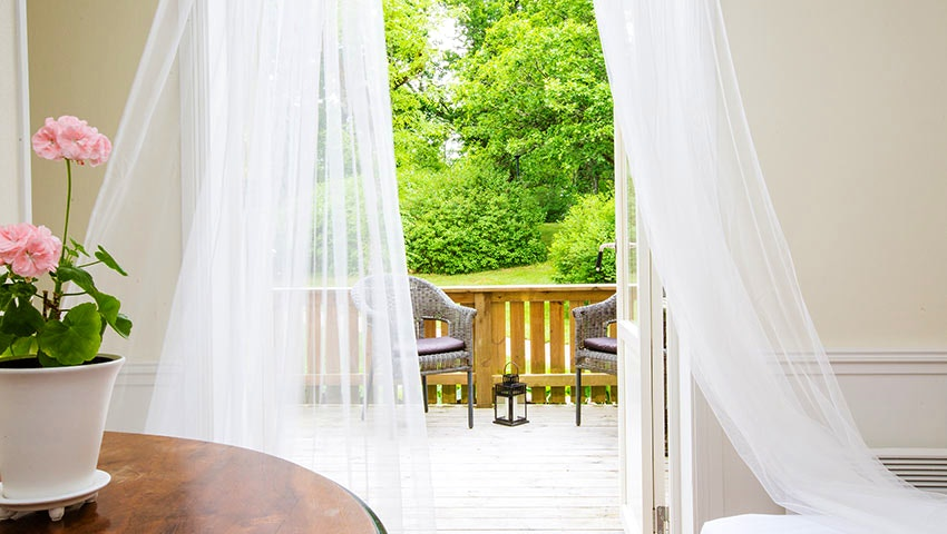 utsikt från rum i Grimsnäs