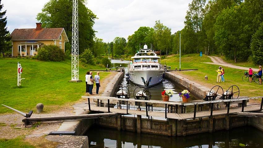 sluss götak kanal
