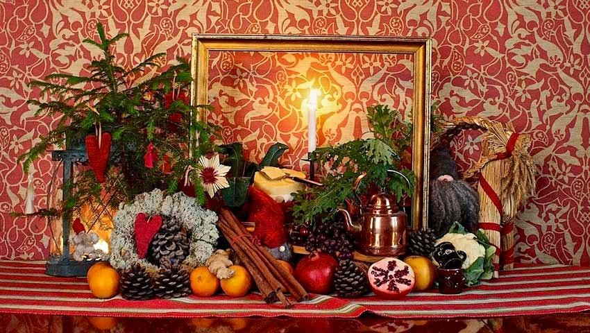 juldekorationer i vallåsen