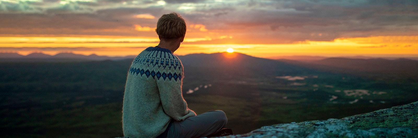 solnedgång-blåhammaren-jämtlandstriangeln