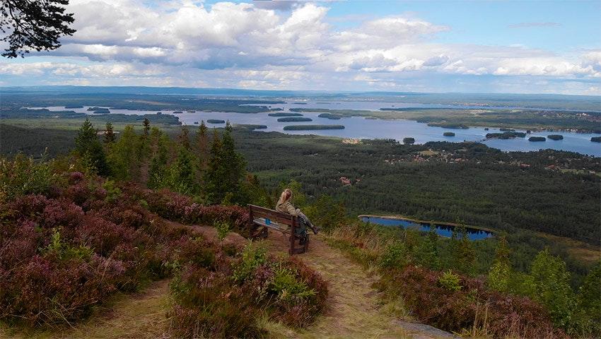 utsikt gesundaberget