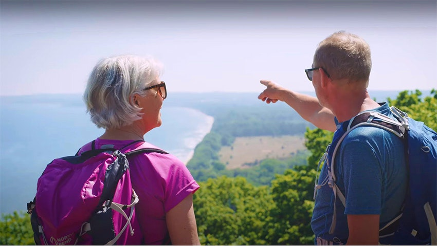 utsikt från stenshuvud nationalpark