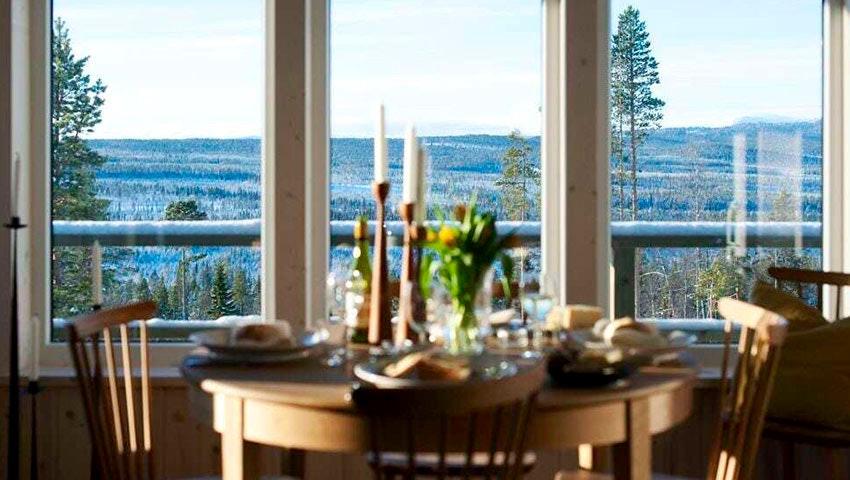 Utsikt från Tännäskröket