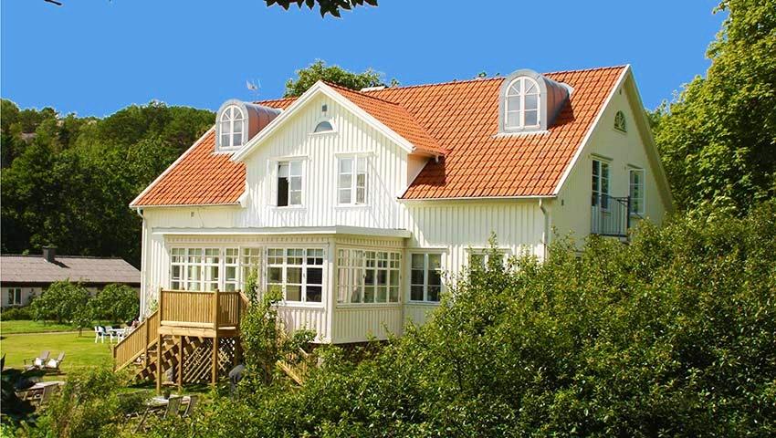 Villa akvarellen i skärgården