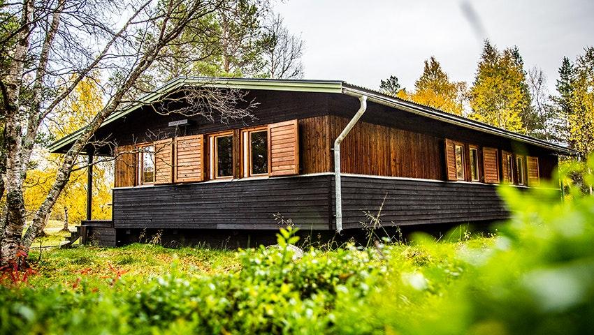 Kierkau - gäststuga, STF Saltoluokta Fjällstation